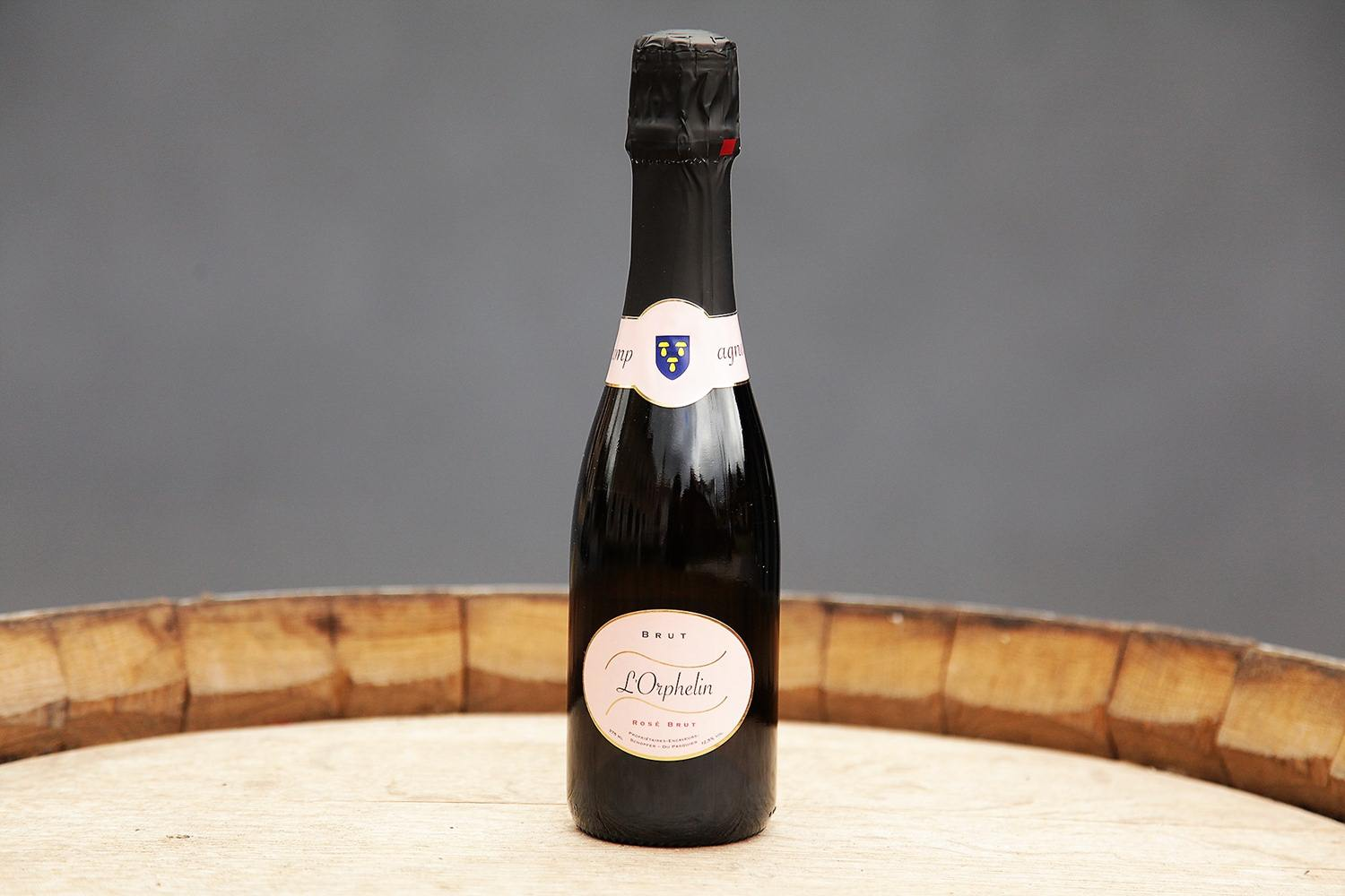 in mousseux BRUT Rosé, 37.5cl L'Orphelin